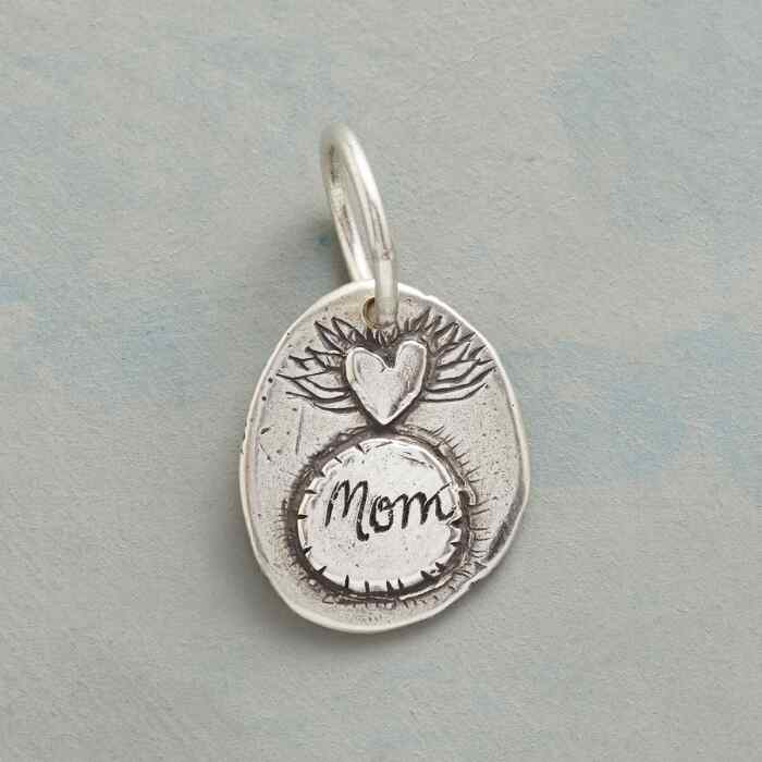 STERLING SILVER NURTURE + PROTECT CHARM