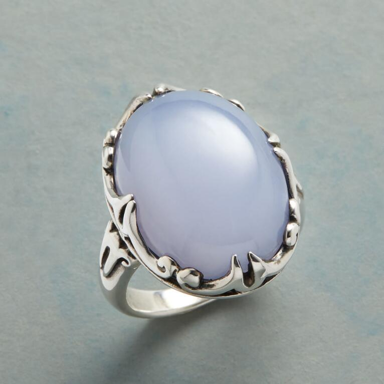 SCROLLED SHORES RING