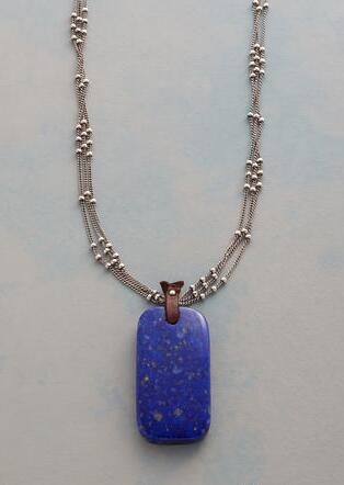INFINITE BLUE NECKLACE