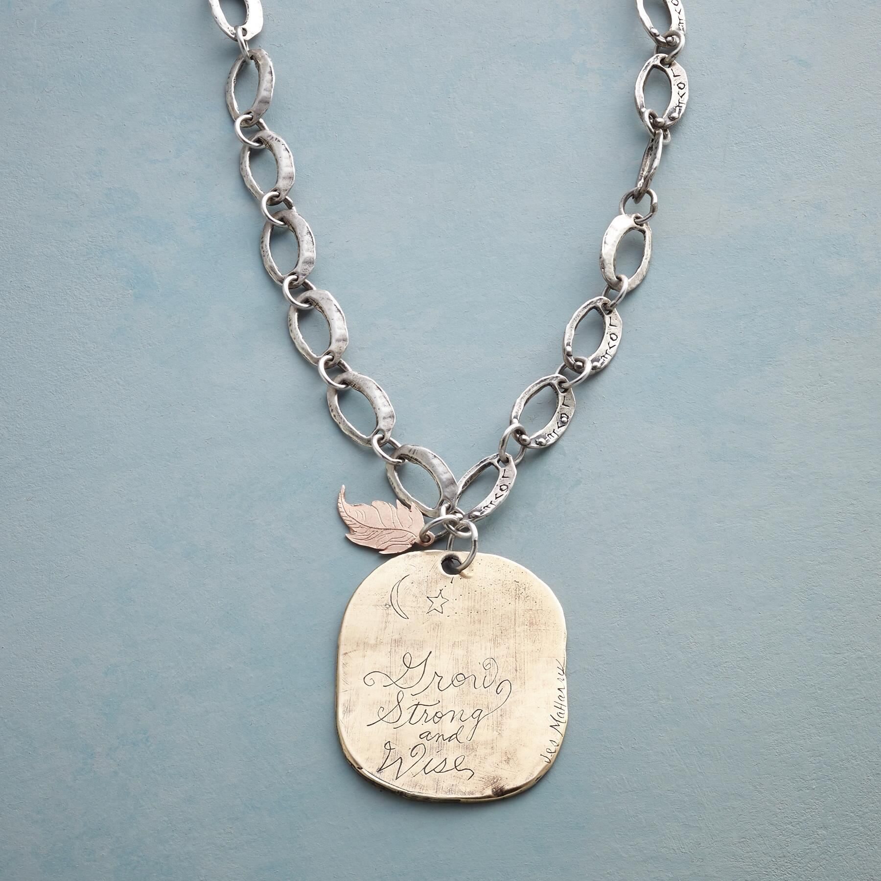 GROW WITH LOVE NECKLACE: View 3