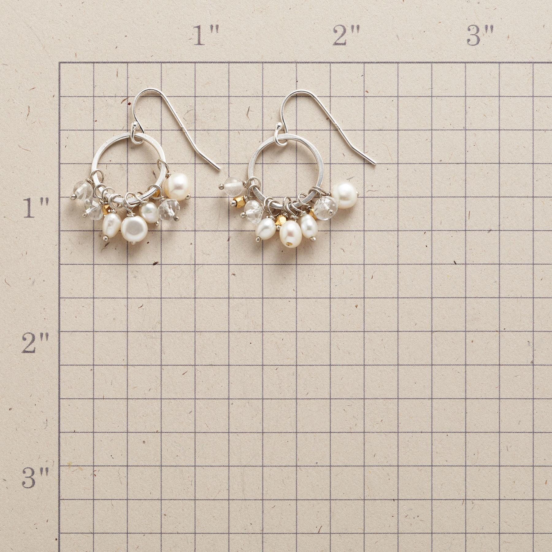 PEARL PETTICOAT EARRINGS: View 2