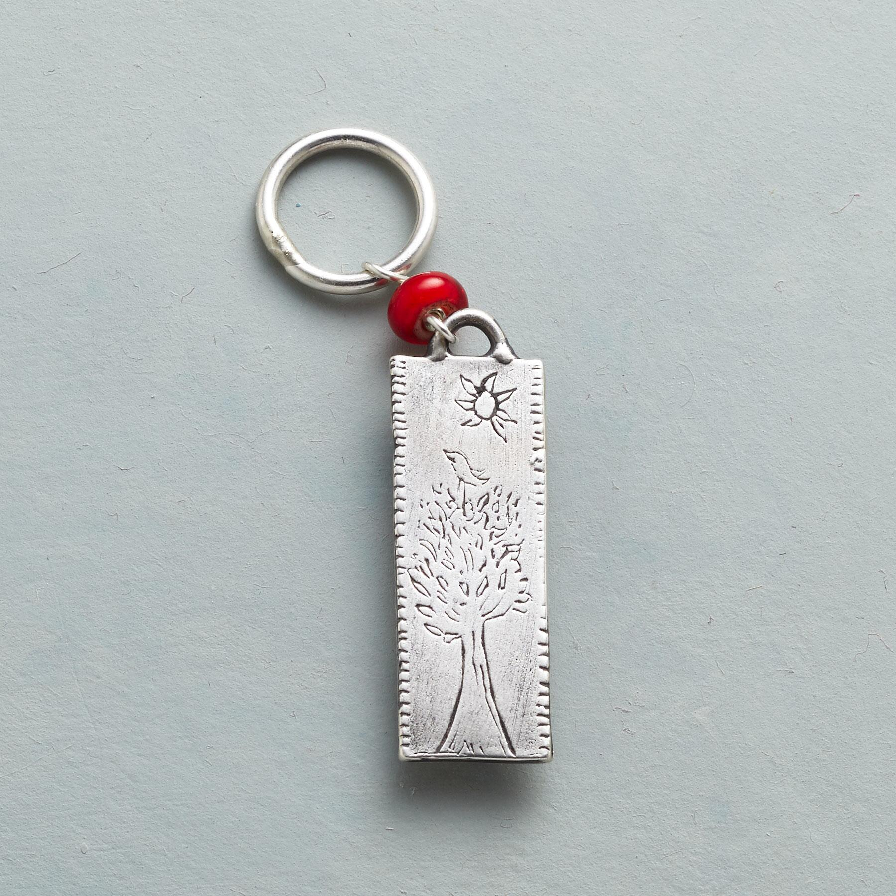 STERLING SILVER FOREVER IN MY HEART CHARM: View 1