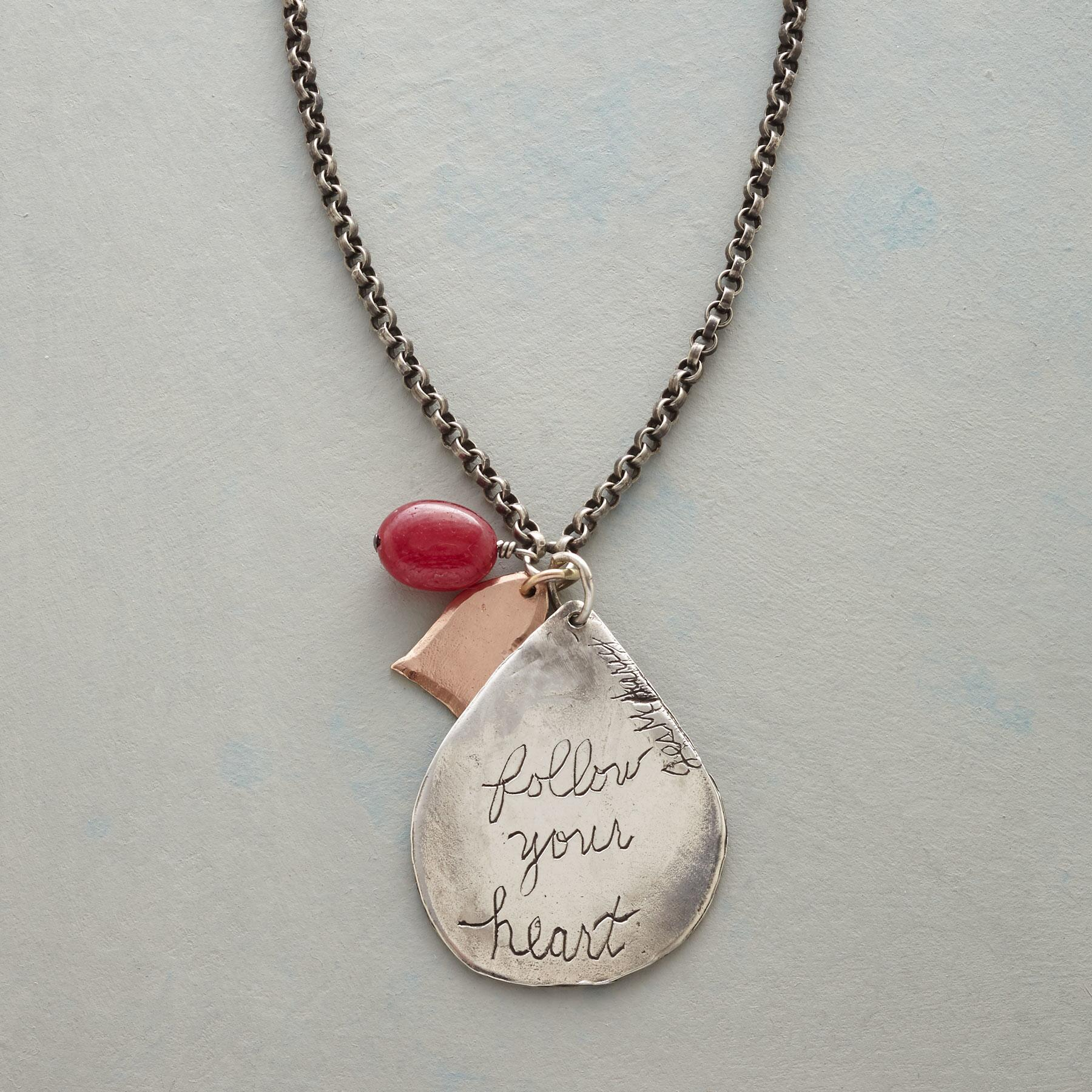 FOLLOW YOUR HEART NECKLACE: View 3