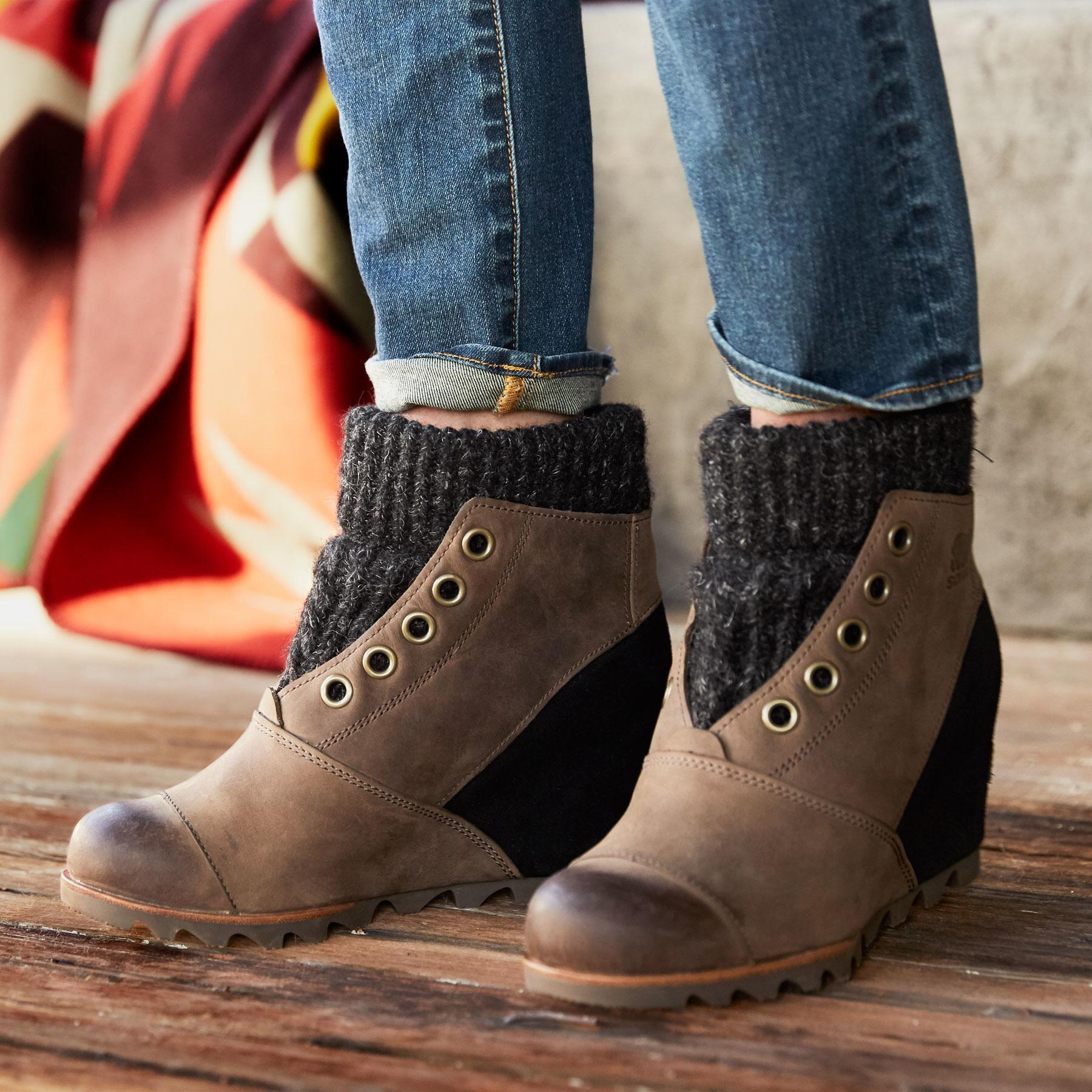 ba5039c8178 JOANIE SWEATER BOOTS BY SOREL  View 1