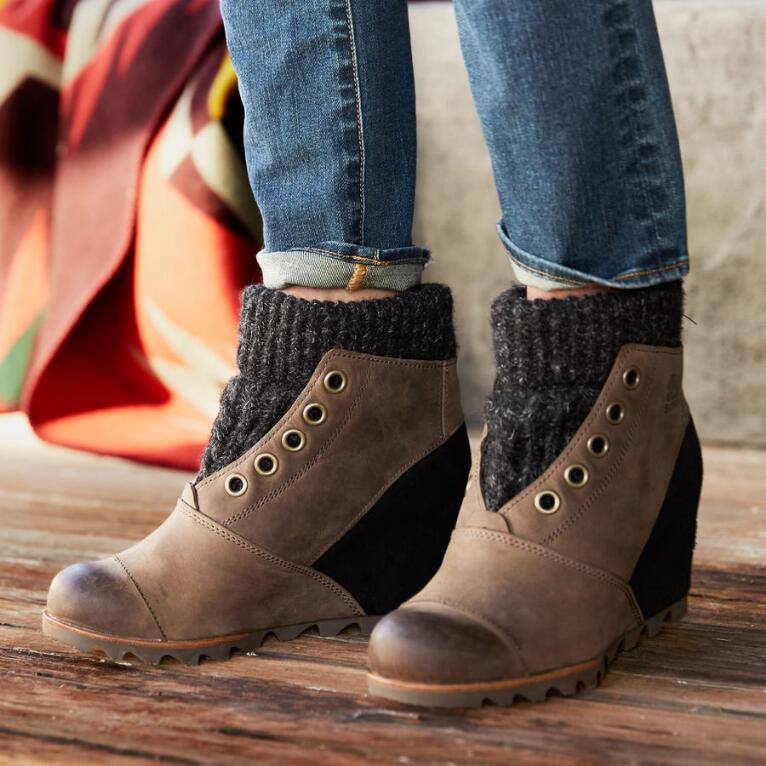 JOANIE SWEATER BOOTS BY SOREL