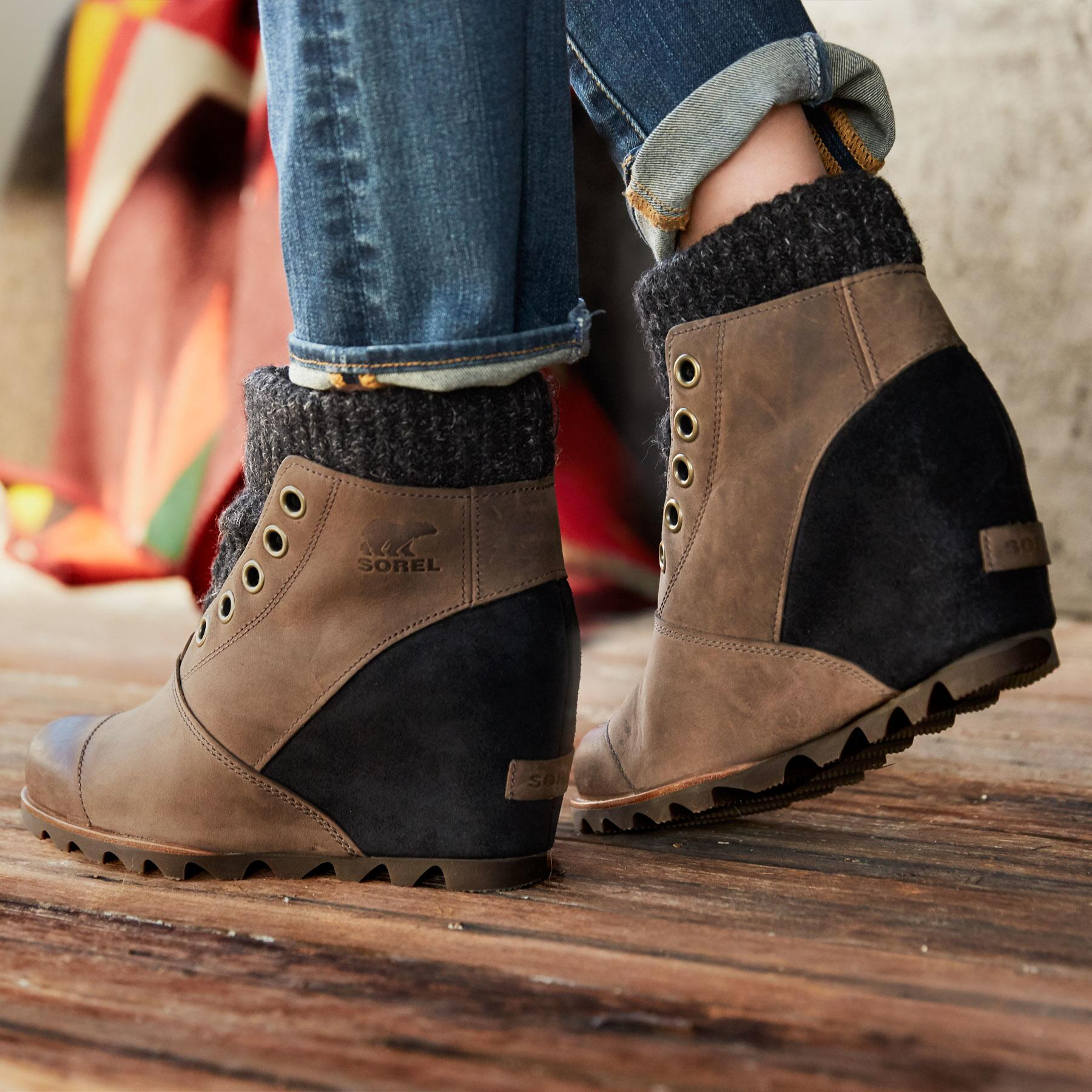 39961dc50e2 JOANIE SWEATER BOOTS BY SOREL  View 2