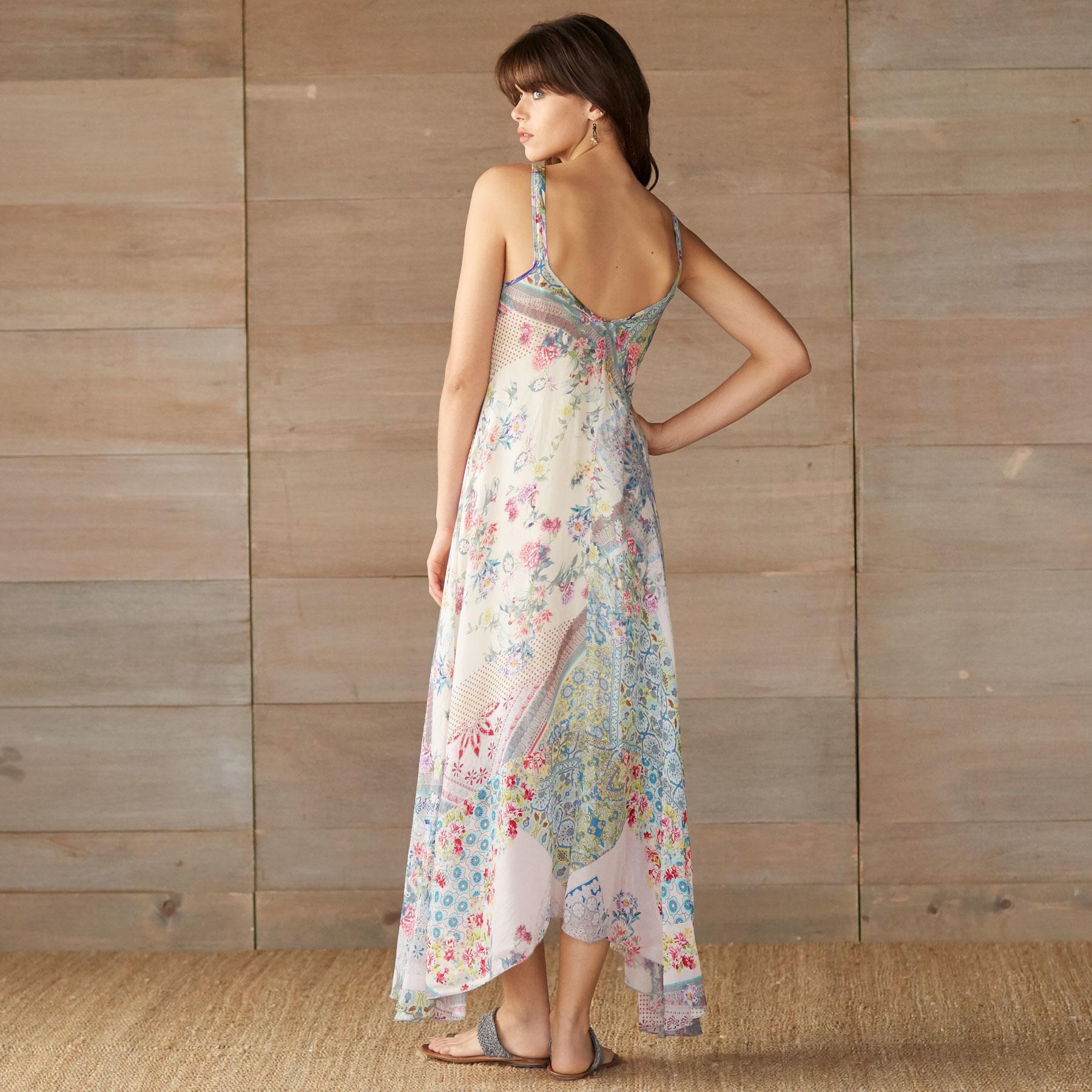 LOVE ASYMETYRICAL DRESS-PRINT A: View 2