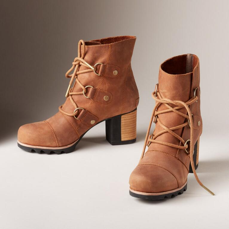 ADDINGTON LACE UP BOOTS BY SOREL
