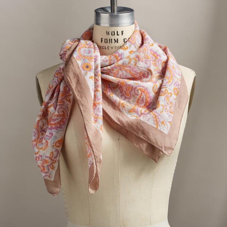 DANCING BLOSSOMS SCARF