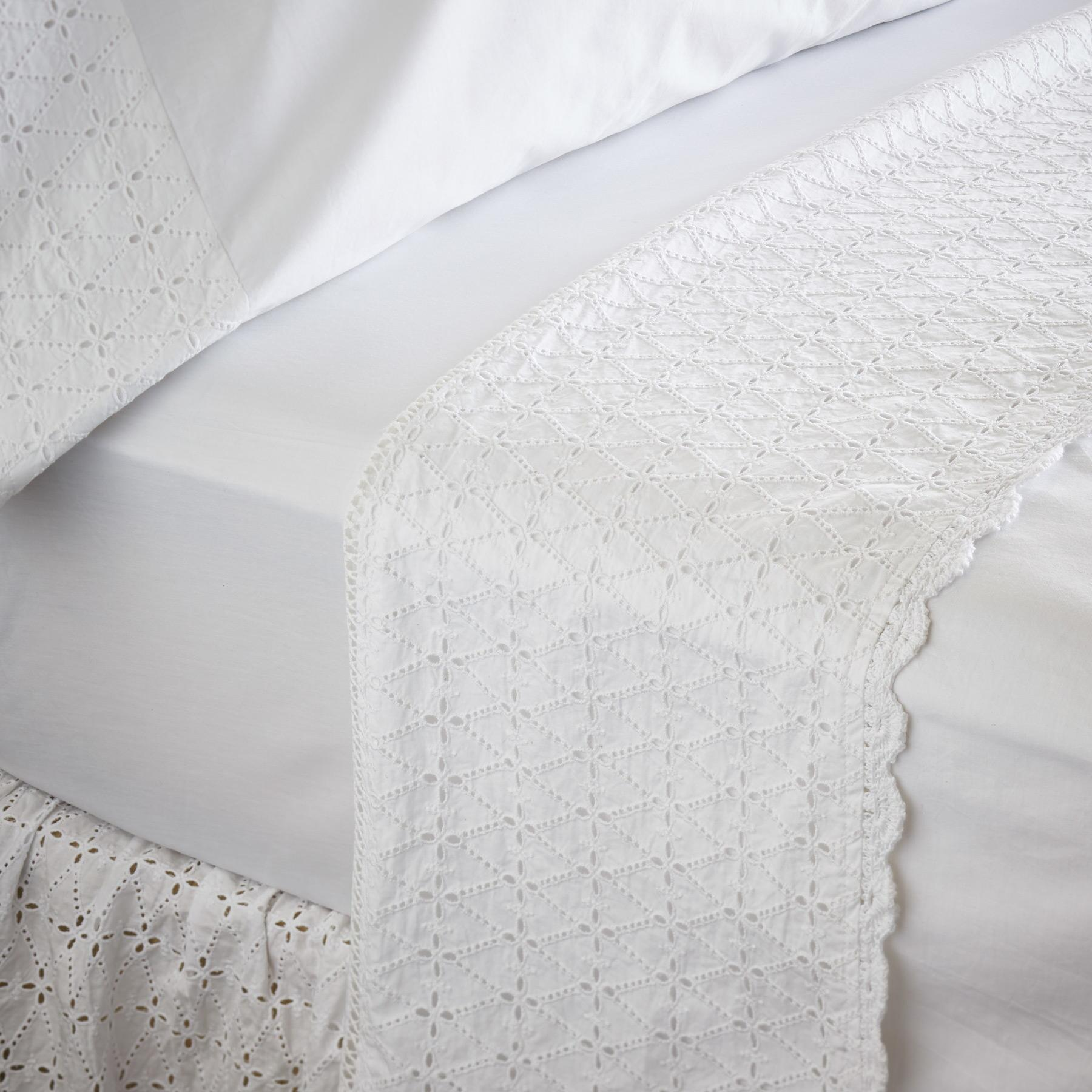 ELYSIA EYELET SHEET SET: View 1