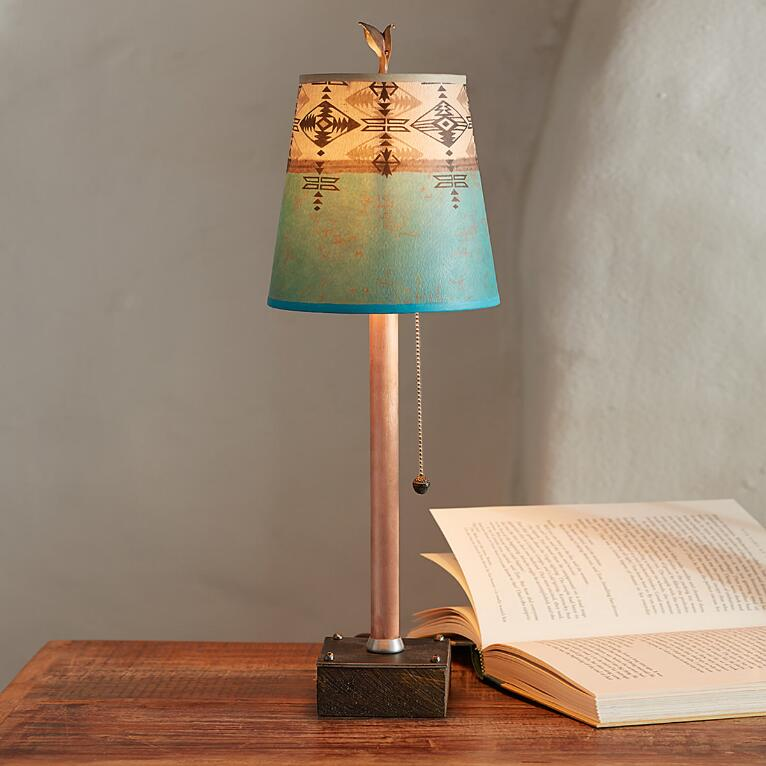 TRIBAL CURRENTS PETITE TABLE LAMP
