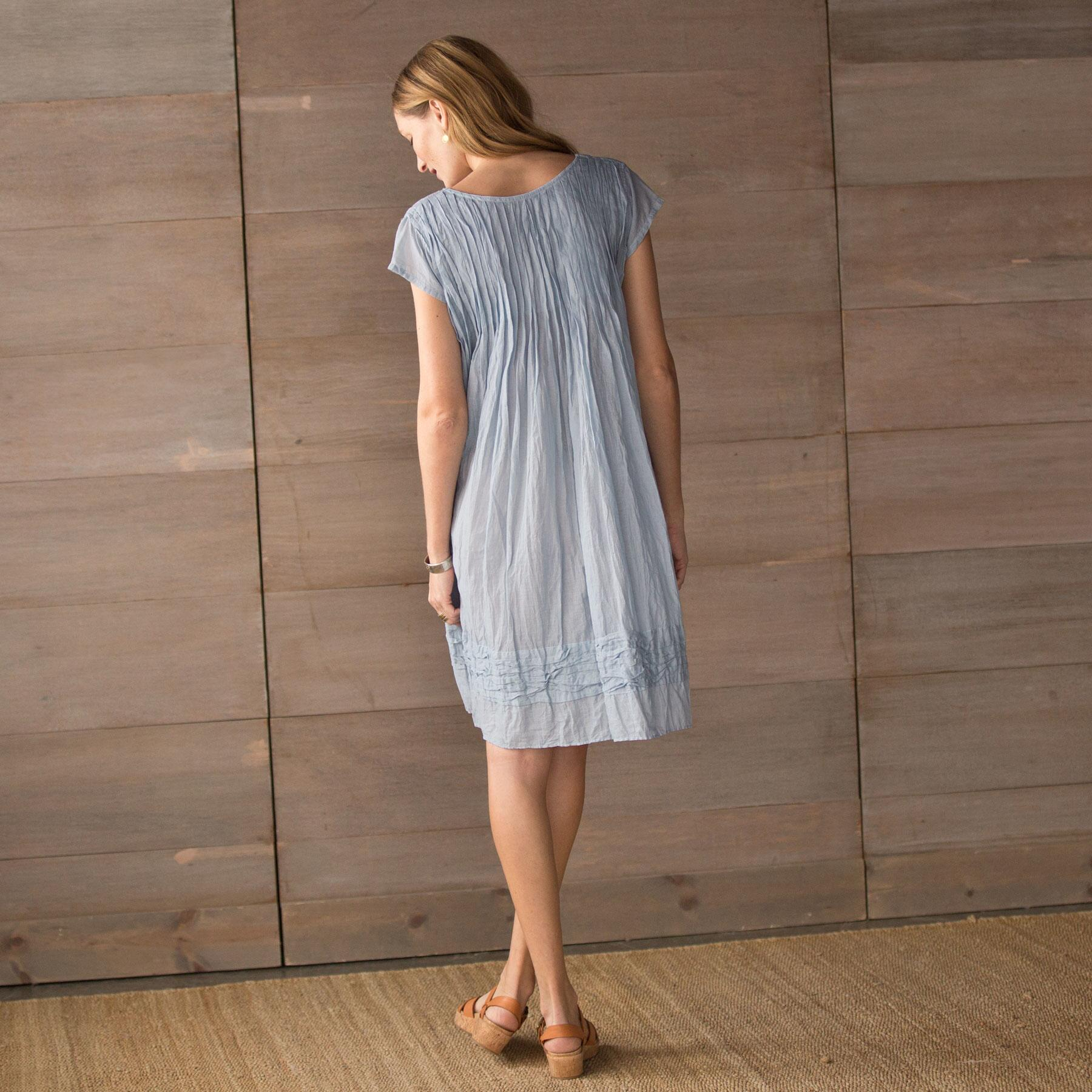 FRANCOIS DRESS WITH CAP SLEEVE: View 2