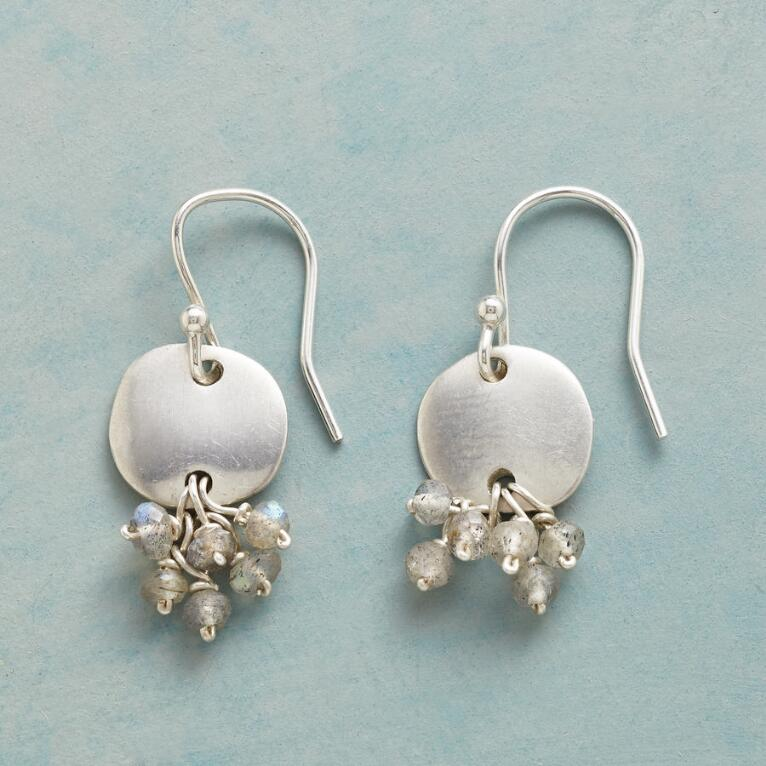 SAND DOLLOP EARRINGS