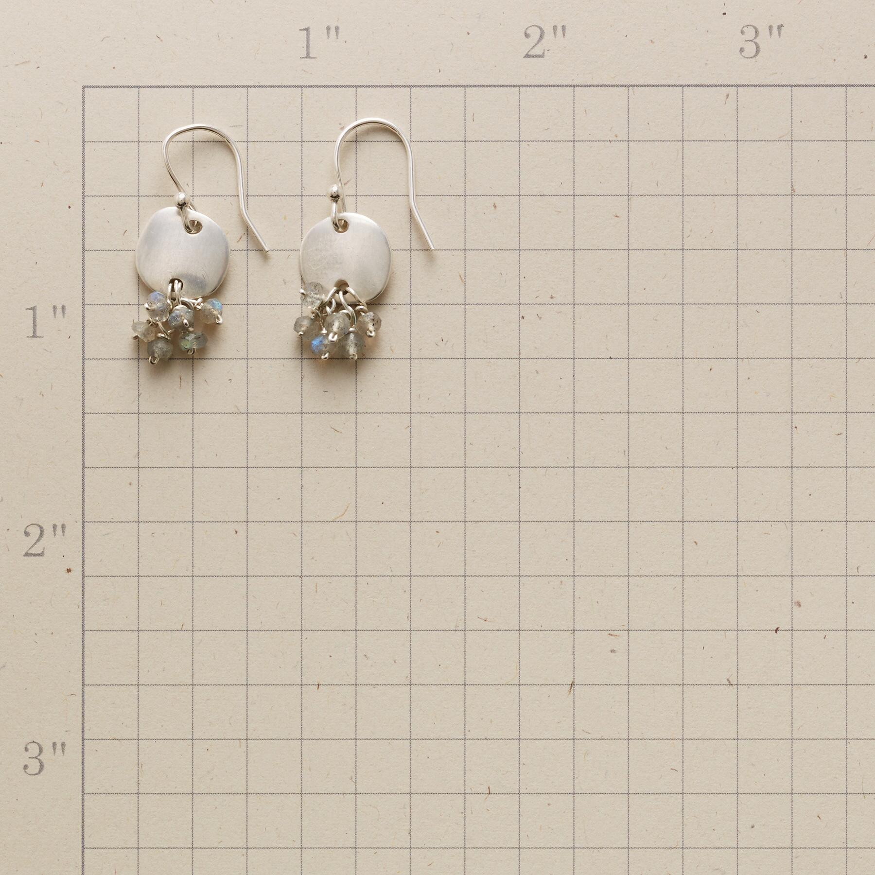 SAND DOLLOP EARRINGS: View 2