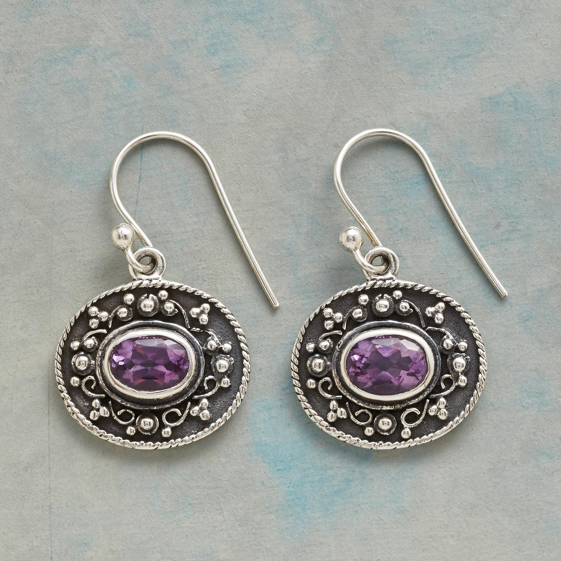 THROUGH THE GRAPEVINE EARRINGS: View 1