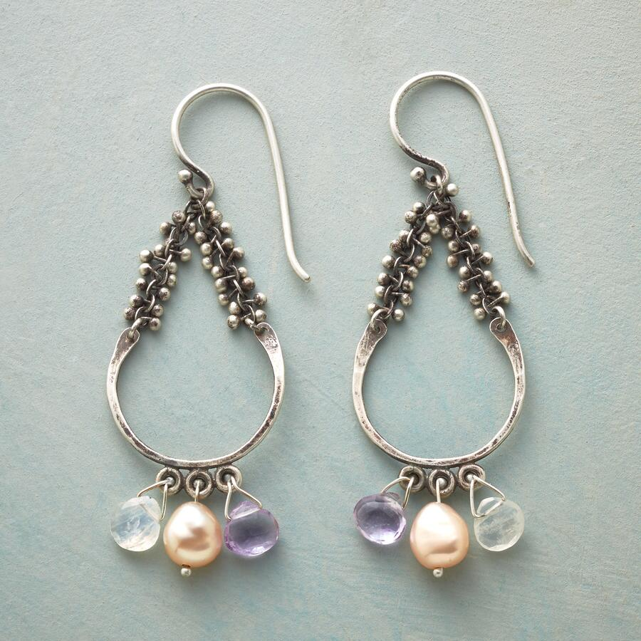 BUBBLY CHANDELIER EARRINGS
