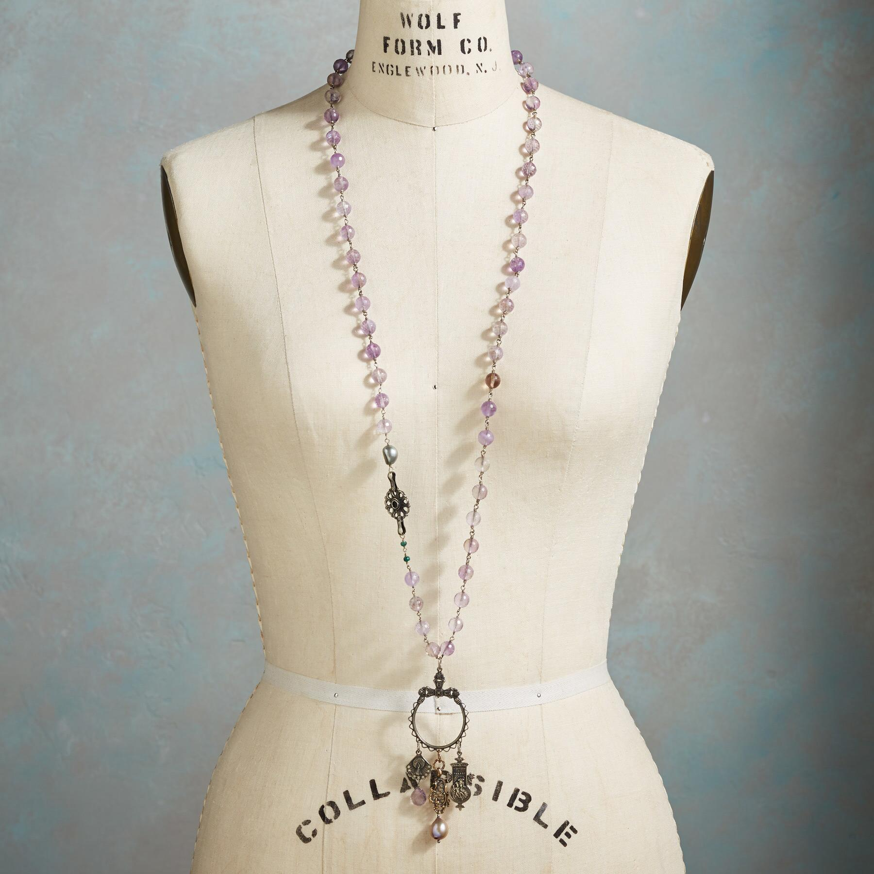 VIOLET REVERIE NECKLACE: View 4