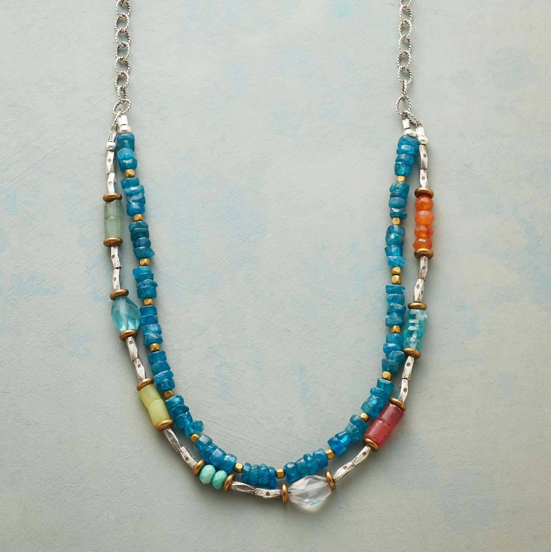 CERULEAN SOIREE NECKLACE: View 1
