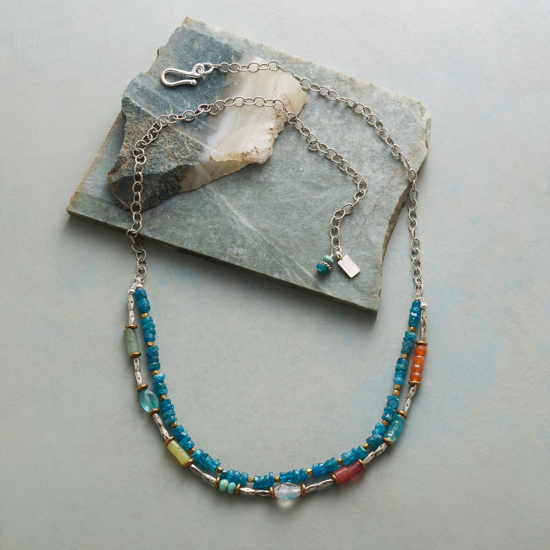 CERULEAN SOIREE NECKLACE: View 2