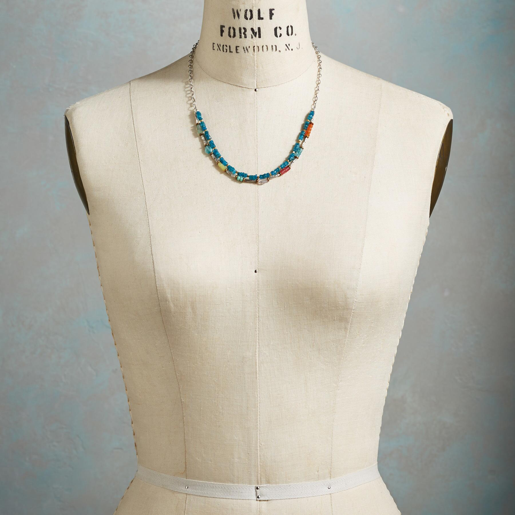 CERULEAN SOIREE NECKLACE: View 4