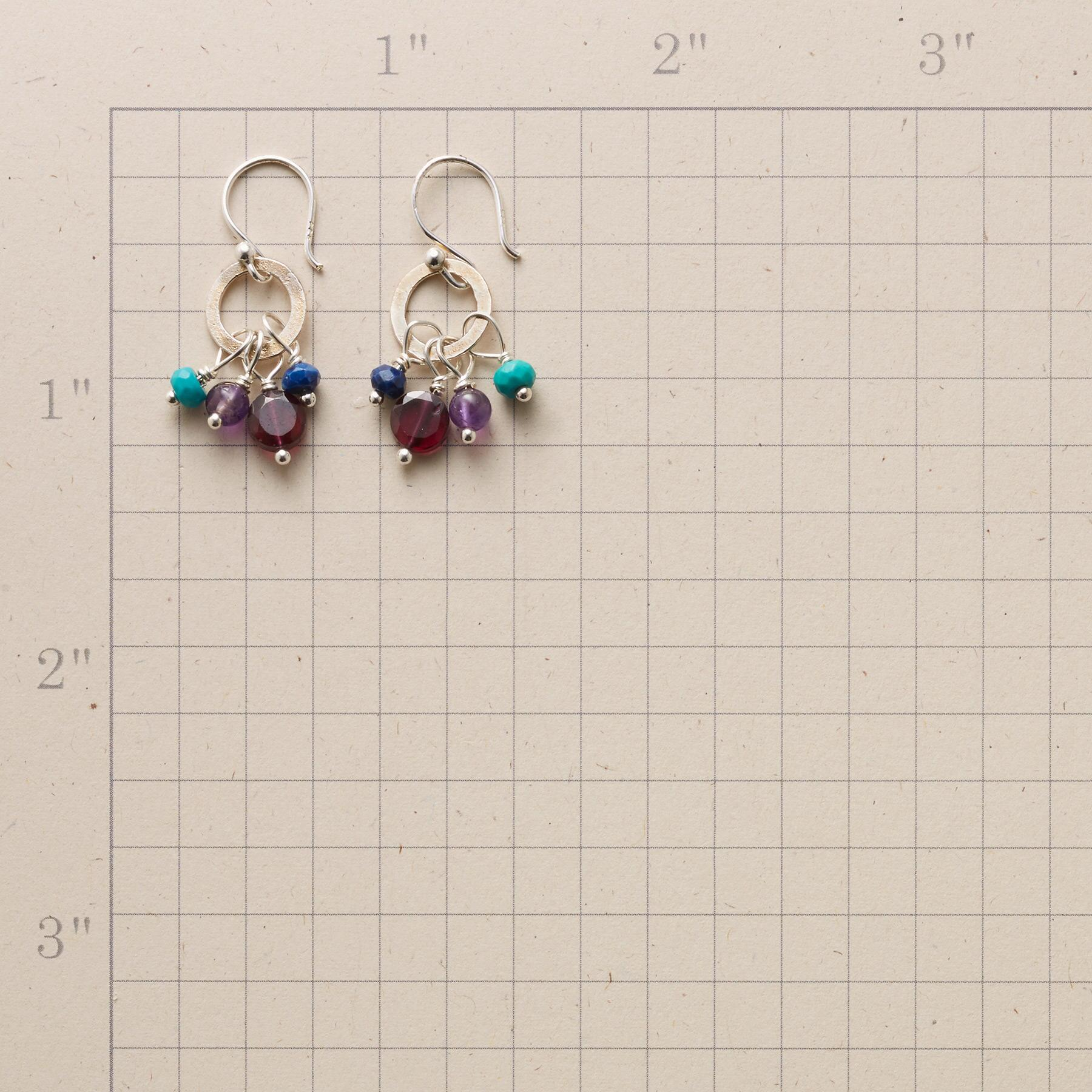TURQUOISE TIDBIT EARRINGS: View 2