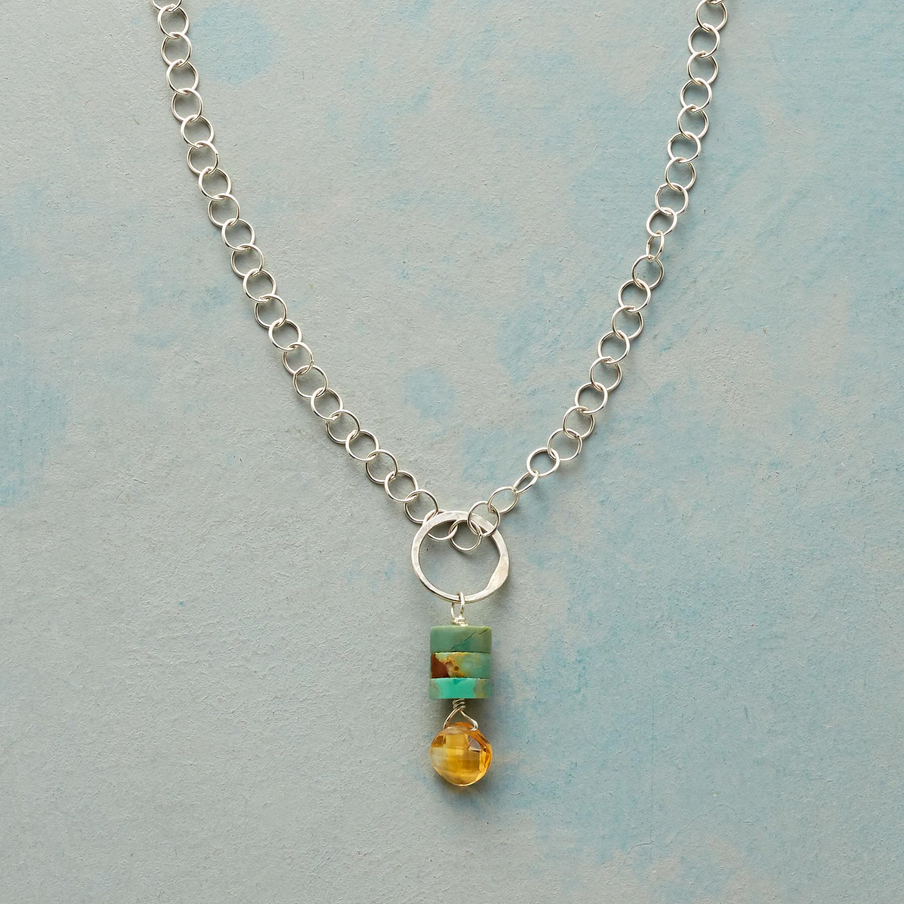 TURQUOISE TOWER NECKLACE: View 1