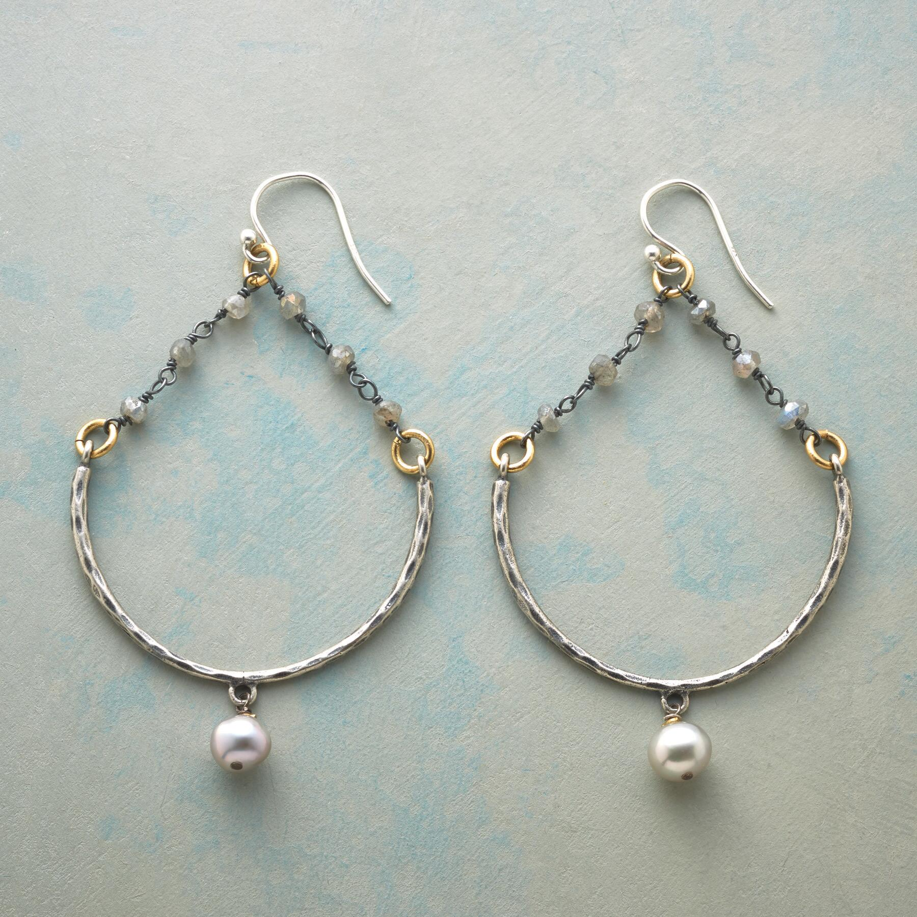 MOON BERRY EARRINGS: View 1