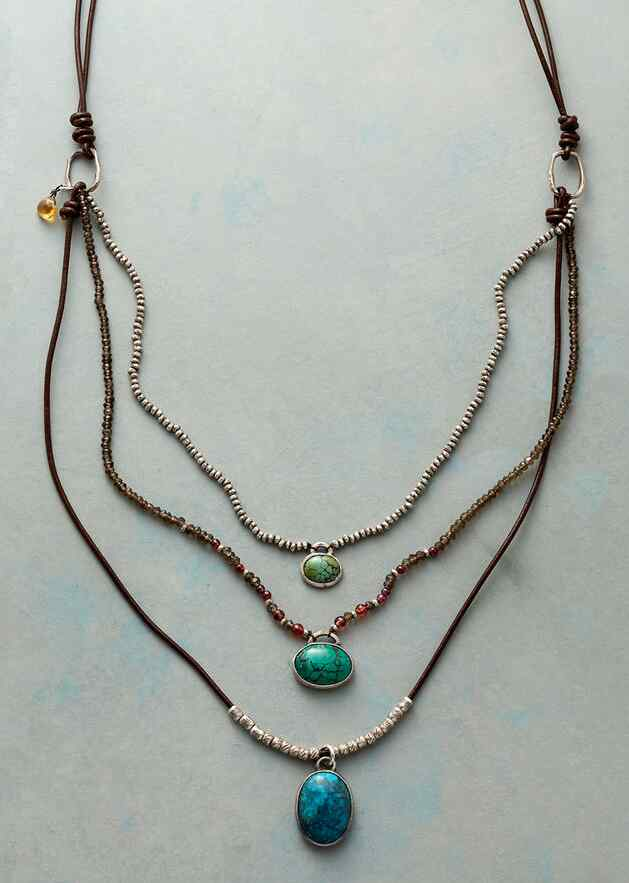 ROW THREE NECKLACE