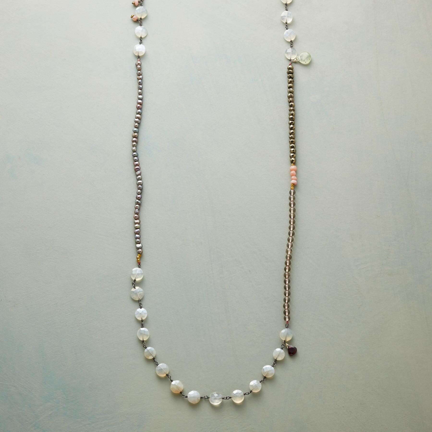 PEARLY PASTICHE NECKLACE: View 1