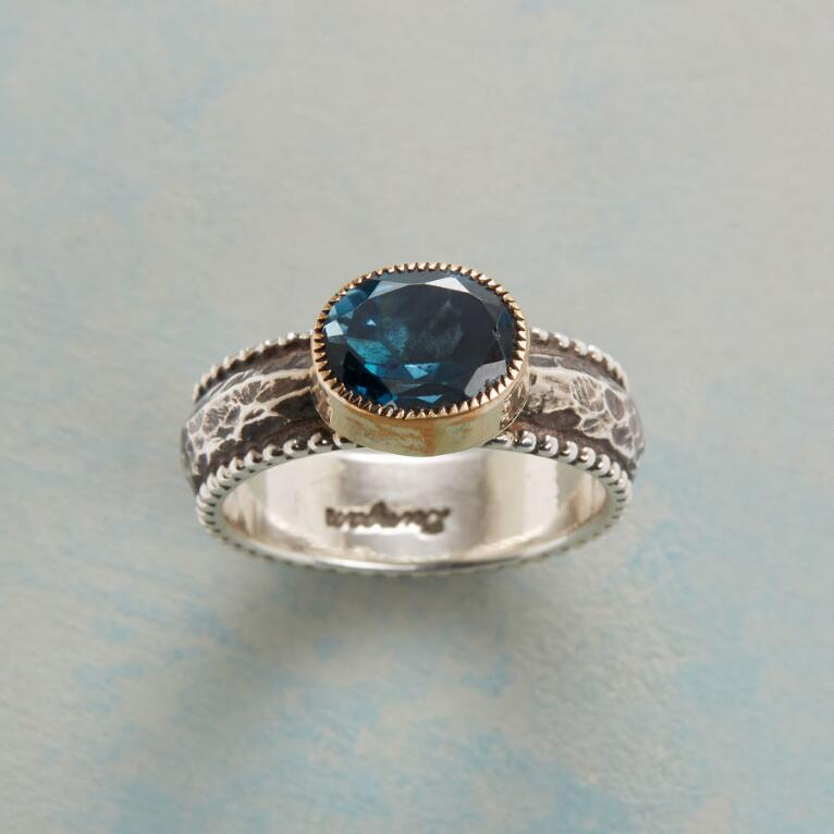 BLUE FIRE RING