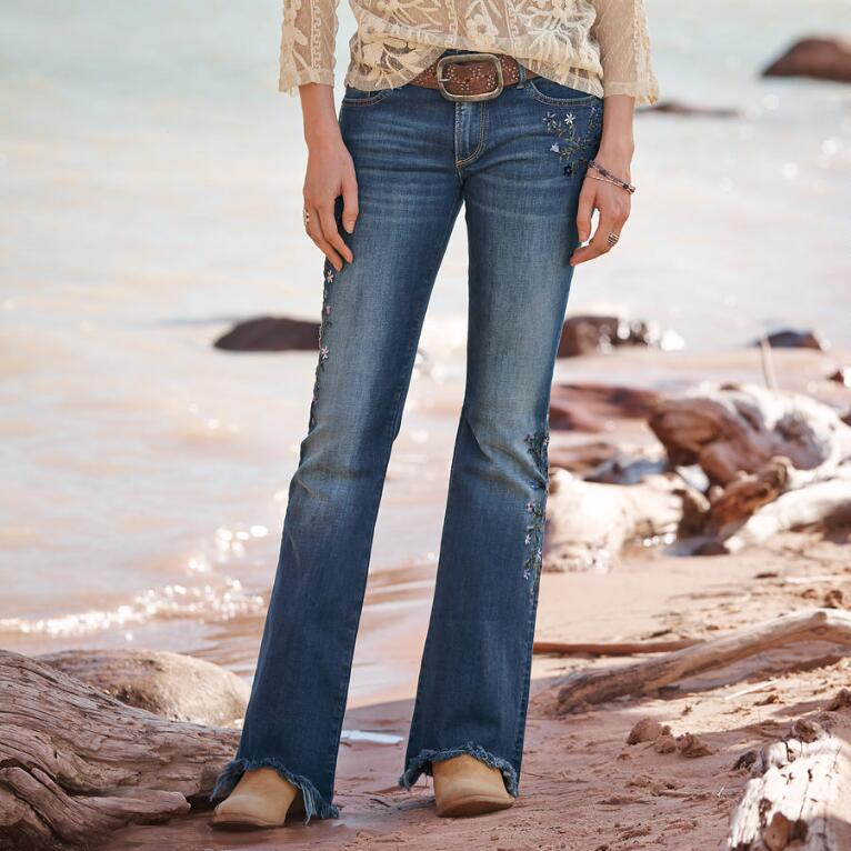 EVA FORGET-ME-NOT JEANS BY DRIFTWOOD