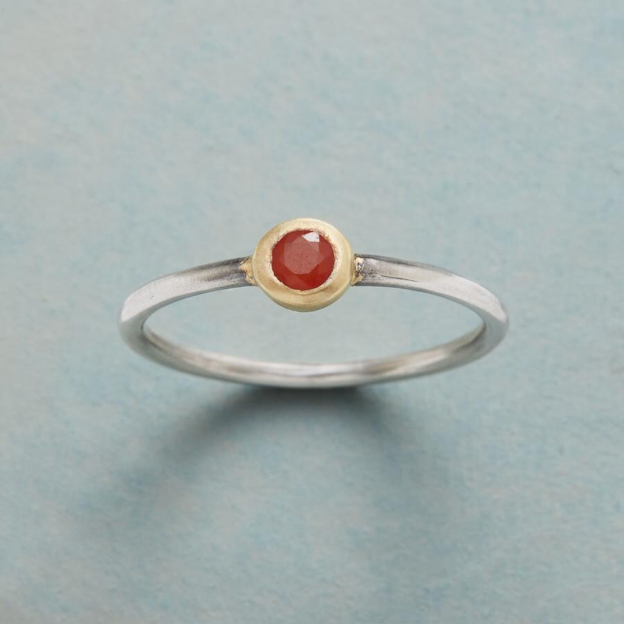 ONE IN A CARNELIAN RING
