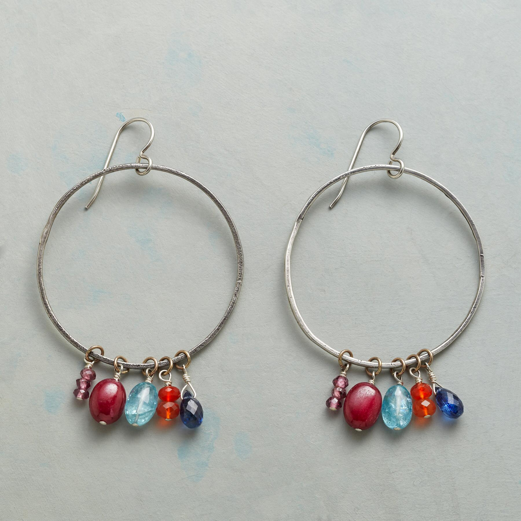 COLOR DANCE EARRINGS: View 1