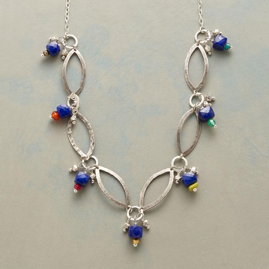 MIDNIGHT MARQUISE NECKLACE