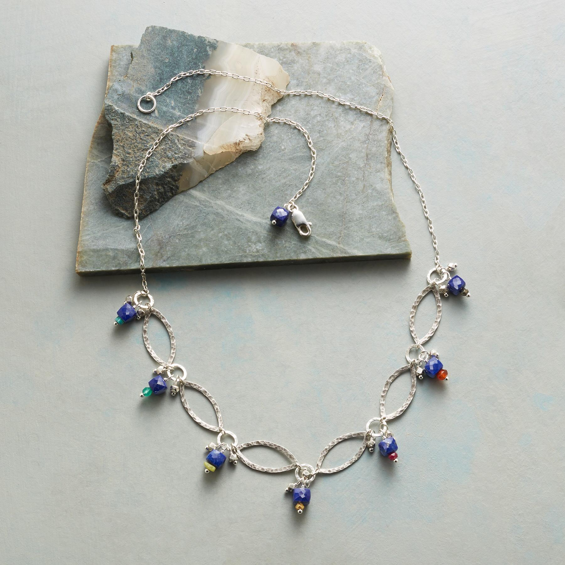 MIDNIGHT MARQUISE NECKLACE: View 2