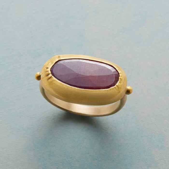 RUBY'S SOLO RING