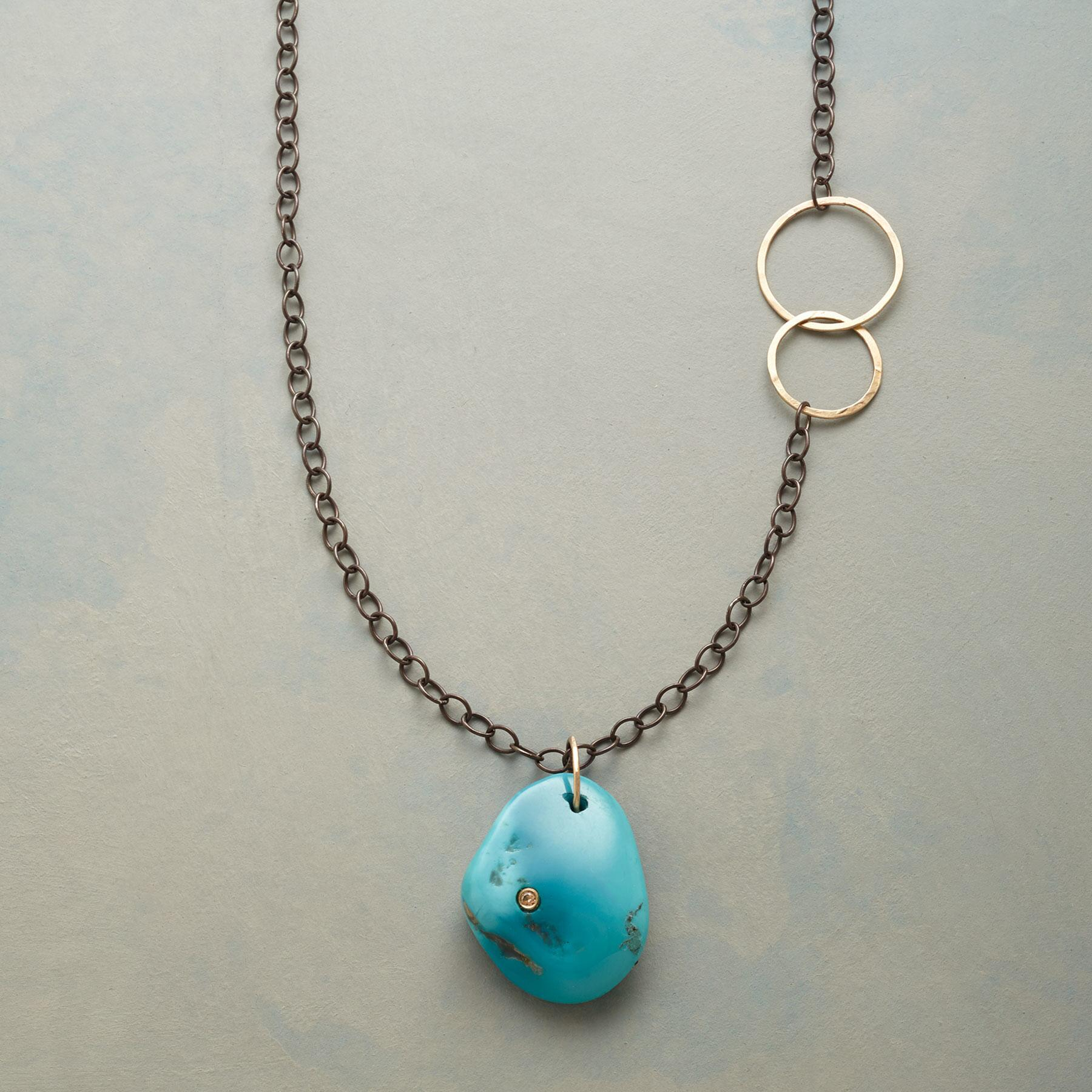 DIAMOND IN THE ROCK NECKLACE: View 1
