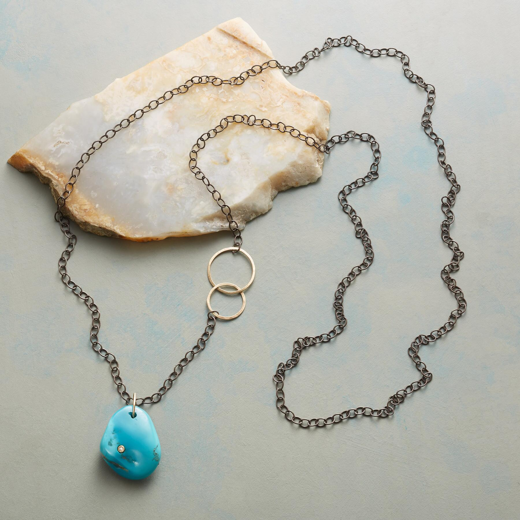 DIAMOND IN THE ROCK NECKLACE: View 2