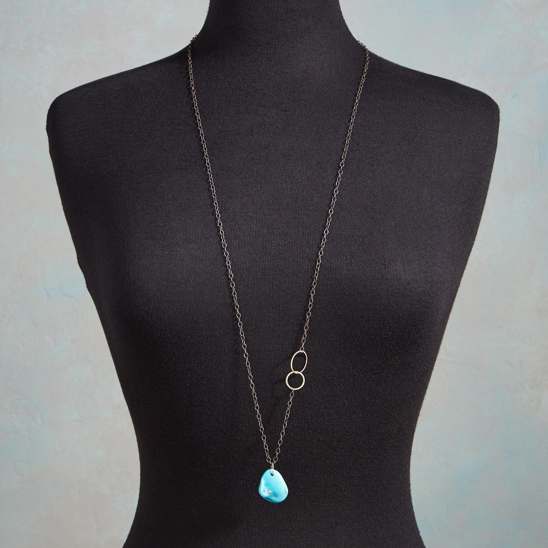 DIAMOND IN THE ROCK NECKLACE: View 3