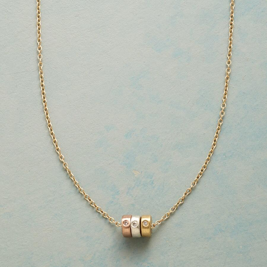 THREE WHEELER DIAMOND NECKLACE