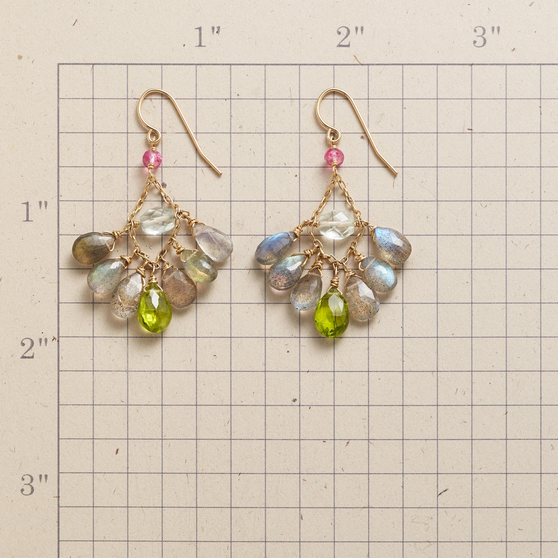 AQUA IN THE MIDDLE EARRINGS: View 2
