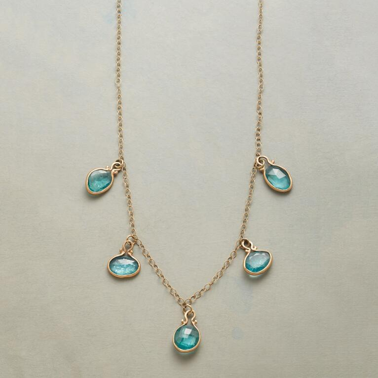 DROPS OF APATITE NECKLACE