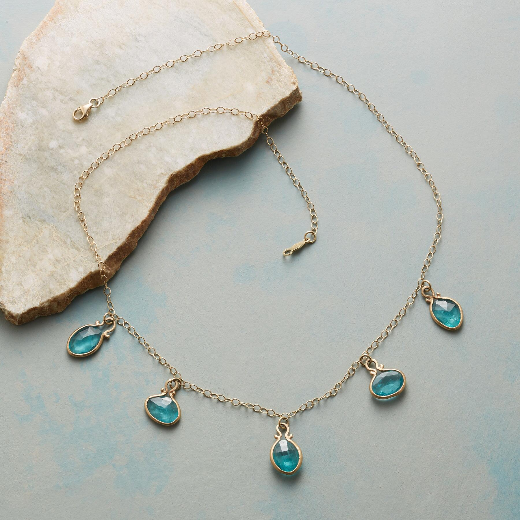 DROPS OF APATITE NECKLACE: View 2