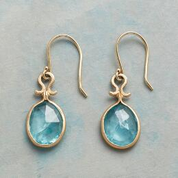 DROPS OF APATITE EARRINGS