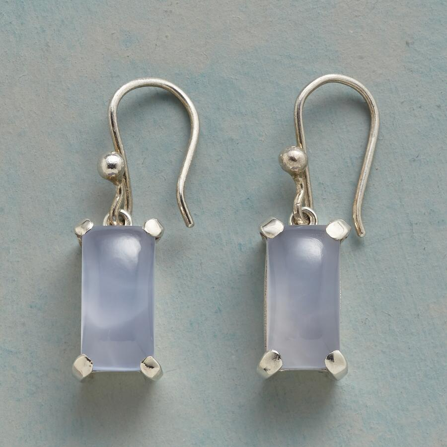 LAVENDER ICE EARRINGS
