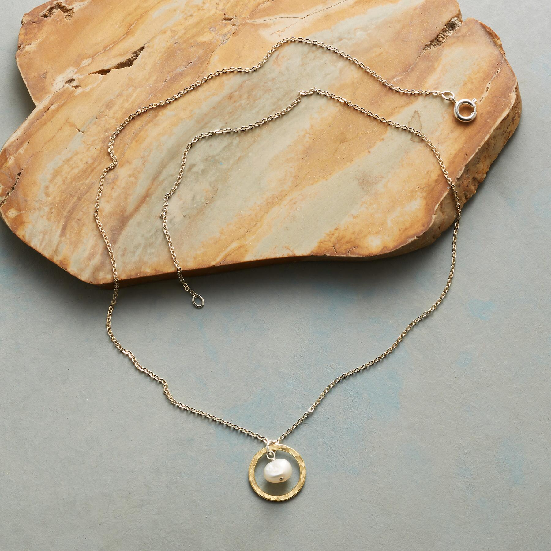 LINGERING MOON NECKLACE: View 2