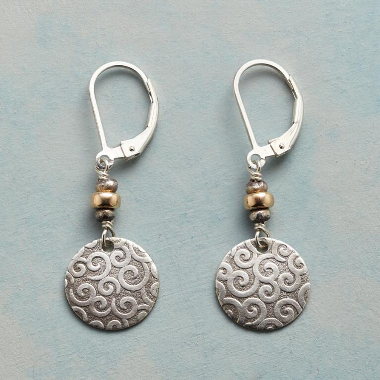 CURLS & SWIRLS EARRINGS