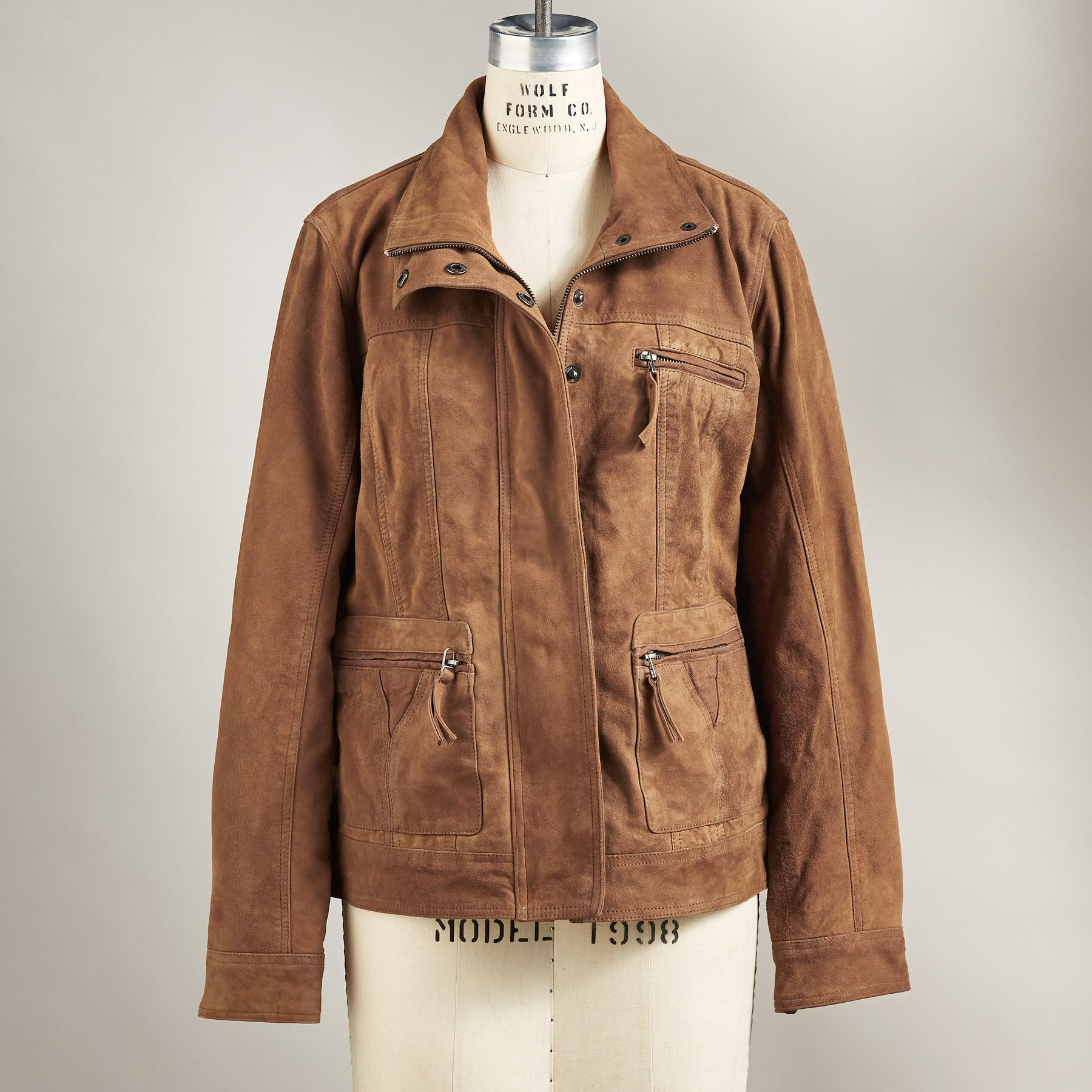SONORA SUEDE JACKET: View 2