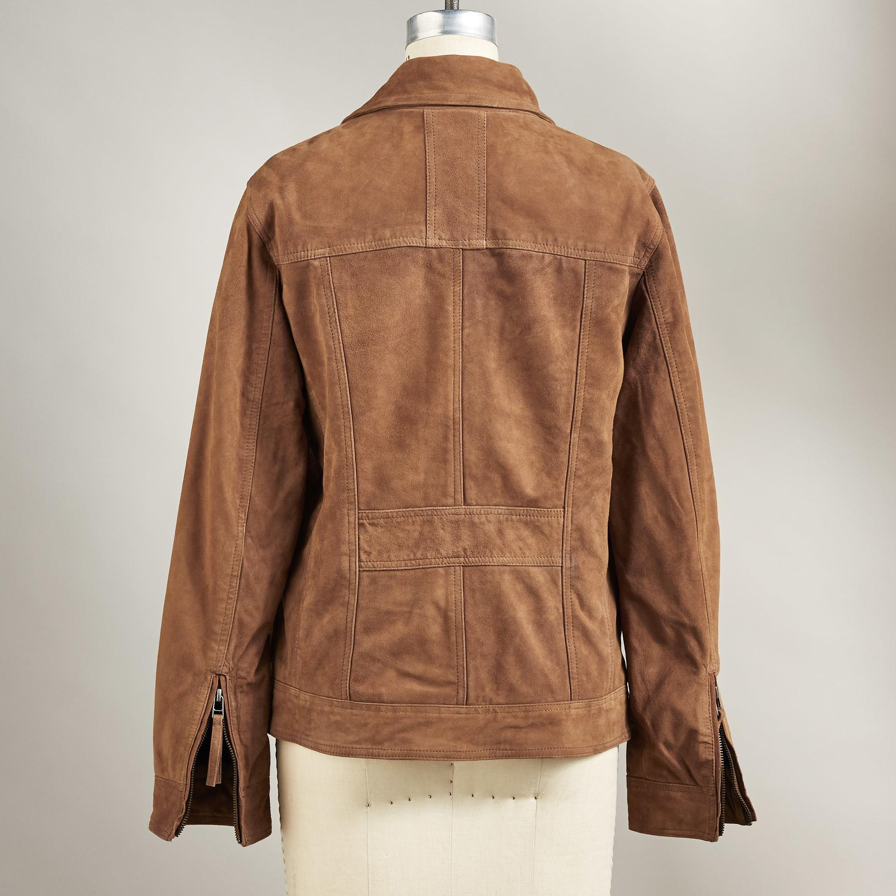SONORA SUEDE JACKET: View 3