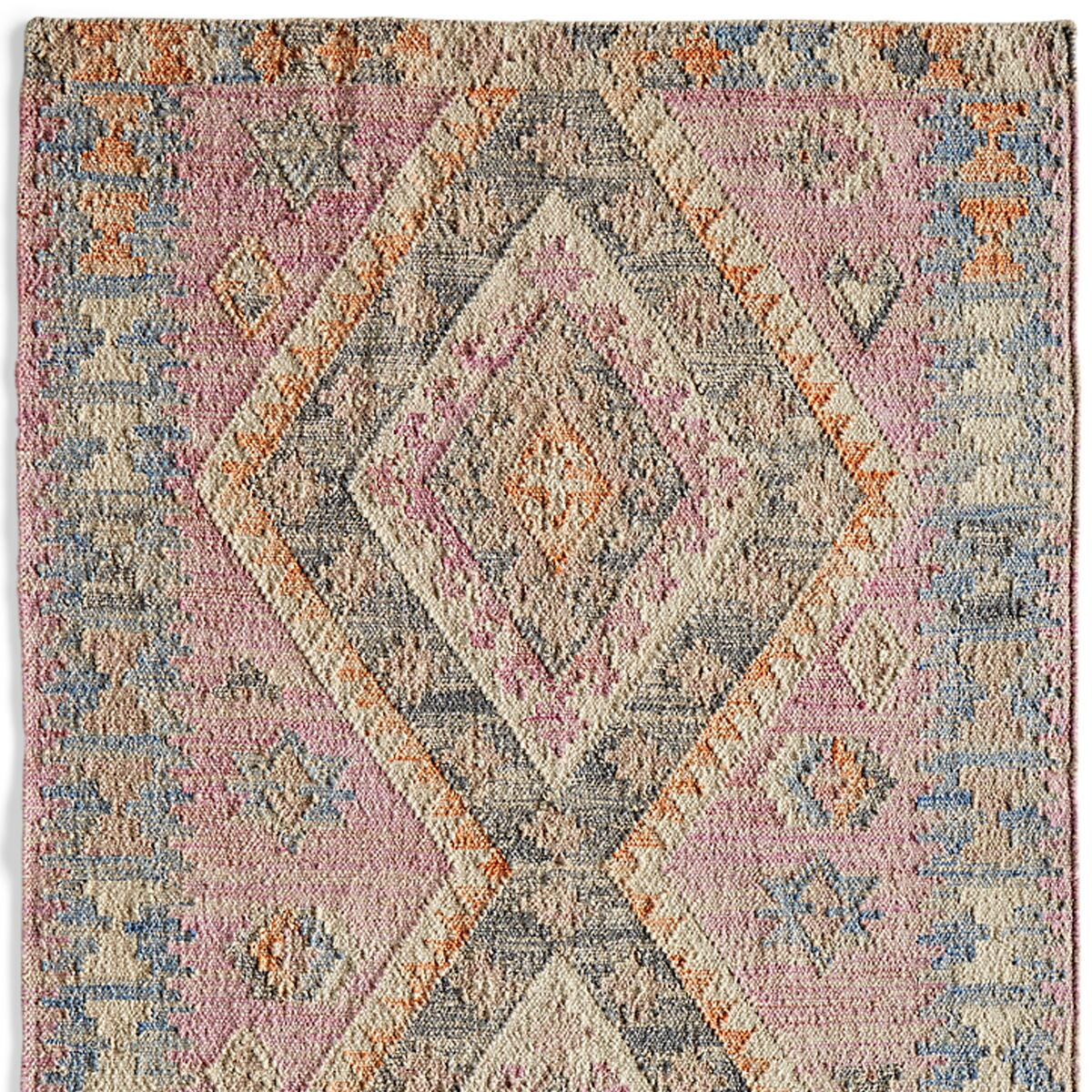 DIAMOND RANCH KILIM RUG - SM: View 1